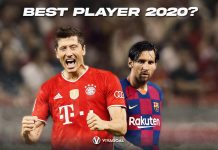 Messi Lewandowski