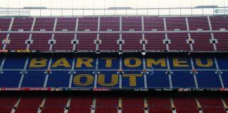 Messi Pergi, Para Fans Barcelona Serukan 'Bartomeu Out!'
