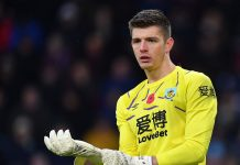 Nick Pope, kiper Burnley