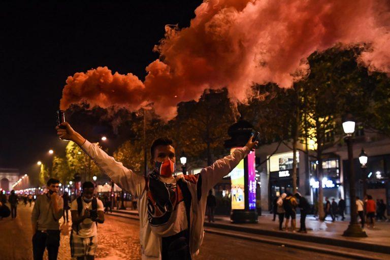 Gagal Juara, Fans PSG Obrak-Abrik Kota Paris