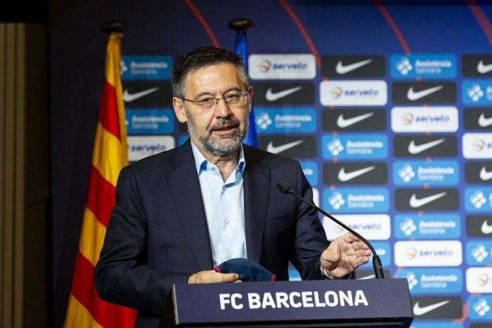 Presiden Barcelona Josep Maria Bartomeu