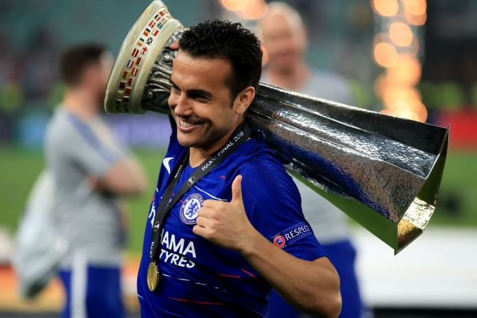 Resmi! Pedro Berseragam AS Roma Hingga 2023