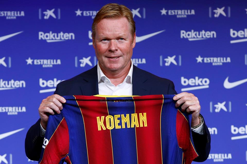 Ronald Koeman perkenalan pelatih baru Barcelona