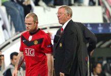 Wayne Rooney dan Sir Alex Ferguson