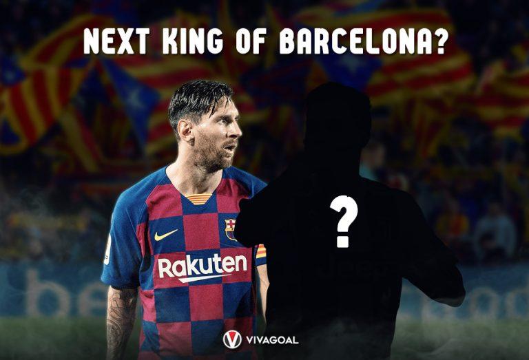 Bintang Juventus Jadi Pewaris Tahta Messi di Barcelona?