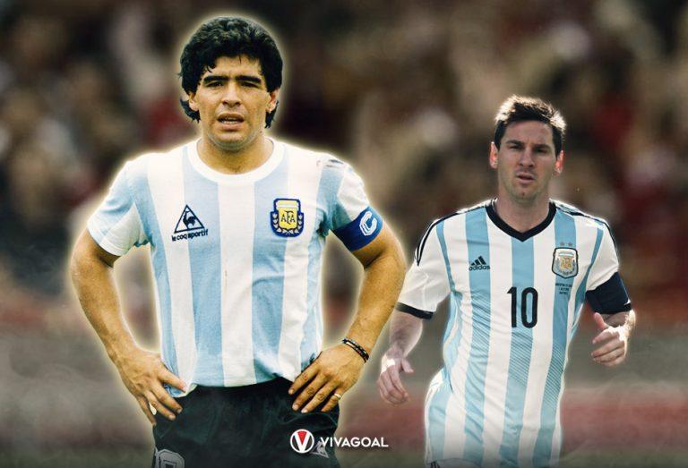 Sering Jadi Perbandingan. Maradona Jr: Messi (Hanya) Pemain Terbaik. Maradona Tuhan Sepakbola!