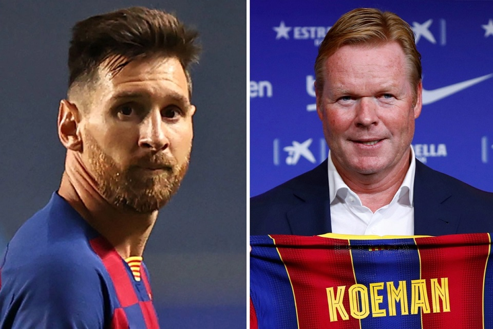 Vidal: Dear Koeman, Mengusik Messi Adalah Kesalahan Besar!