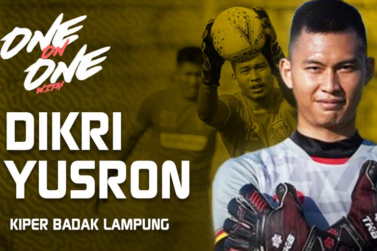 Perjuangan Dikri Yusron Menjadi Penjaga Gawang Terbaik Indonesia