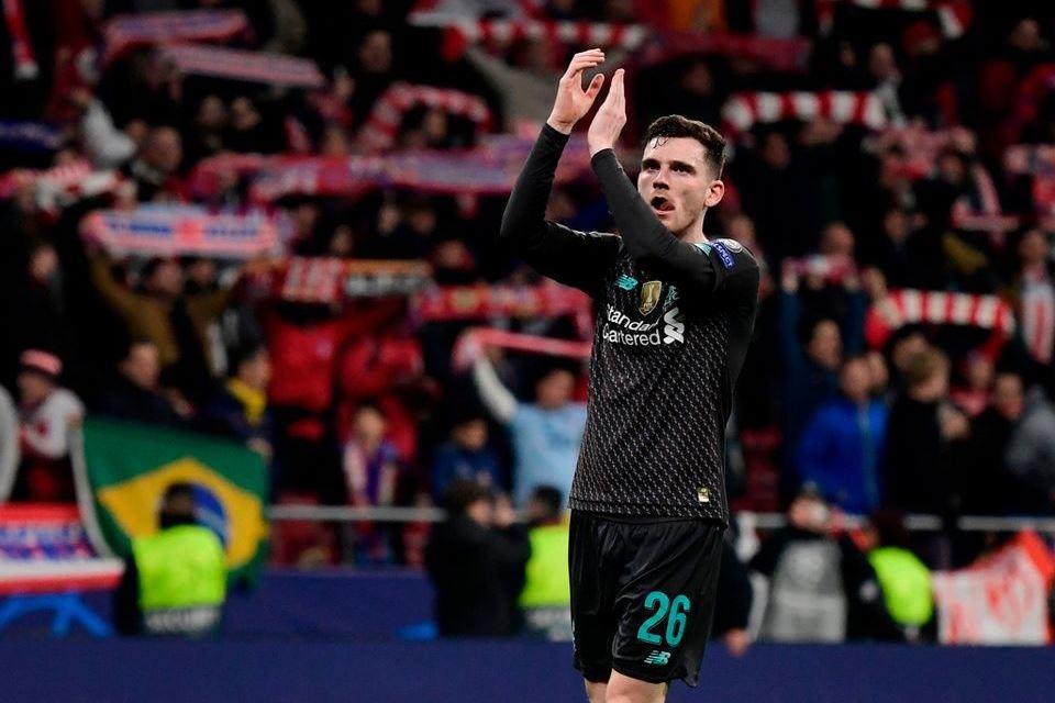 Kesal Kalah Dari Atletico Madrid, Robertson Luapkan Dalam Bukunya