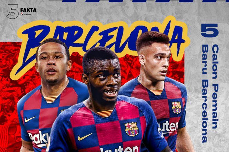 5  Calon Pemain Baru Barcelona