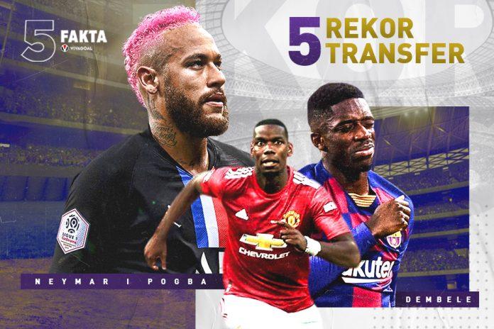 5 Fakta Rekor Transfer