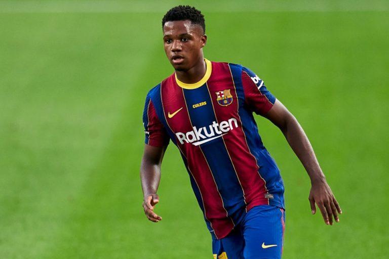 Tawaran Selangit Man United Tuk Ansu Fati Ditolak Barcelona