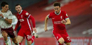 Diogo Jota Jadi Solusi masalah Lini Serang Liverpool