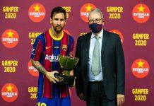 Video Messi Tak Semangat Angkat Trophy, Fans Barcelona Serang Bartomeu