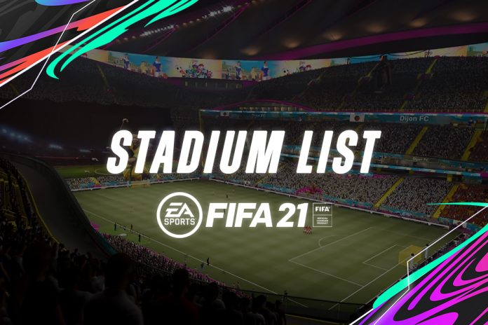 Jajaran Stadion yang Bisa Digunakan di FIFA 21