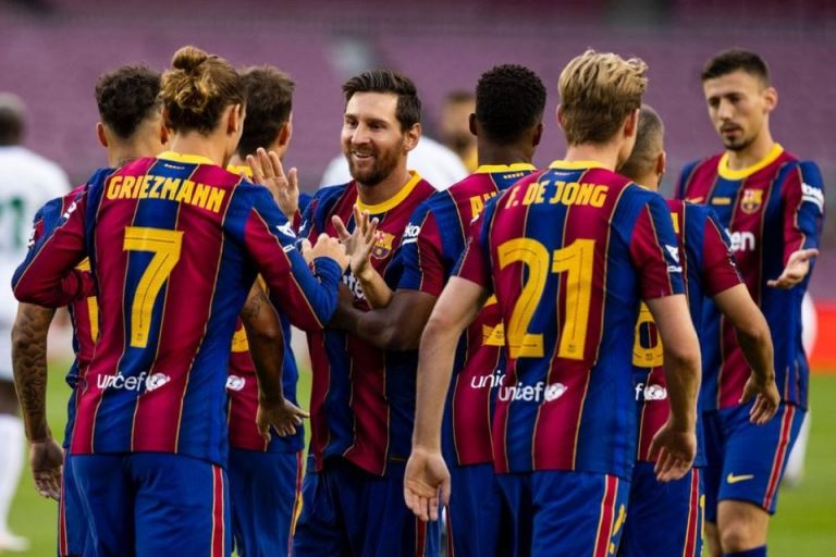 Gol Cepat Griezmann Menangkan Barcelona 1-0 Atas Elche