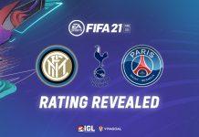 EA Sports Rilis Rating Pemain PSG, Inter Milan dan Tottenham Hotspur