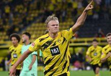 Ketimbang Lewandowski, Haaland Pikul Beban Lebih Berat Di Dortmund