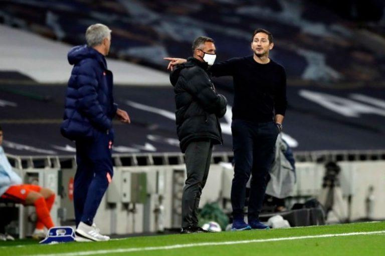 Lampard dan Mourinho Cekcok, Ini yang Terjadi Antara Dua Pelatih Beda Generasi
