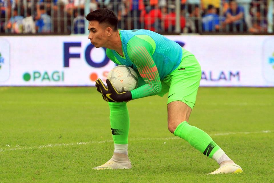 Menakar Siapa Kiper Utama Bali United Di Liga 1 2020