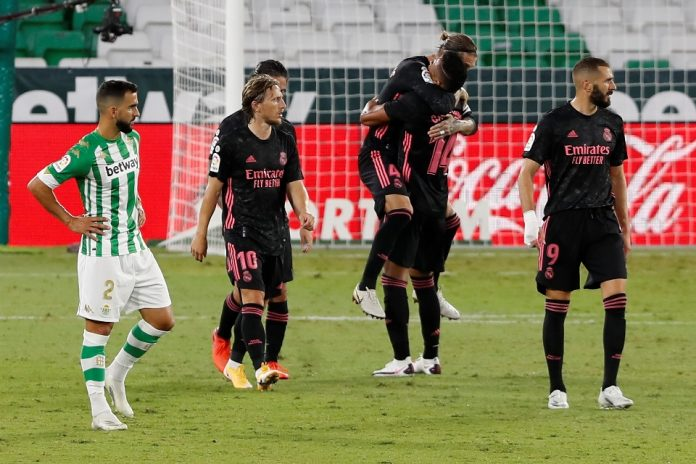 Real Betis vs Madrid Penalti Ramos Menangkan Los Blancos 3-2