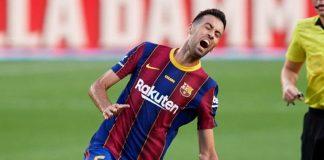 Sergio Busquets, gelandang veteran Barcelona