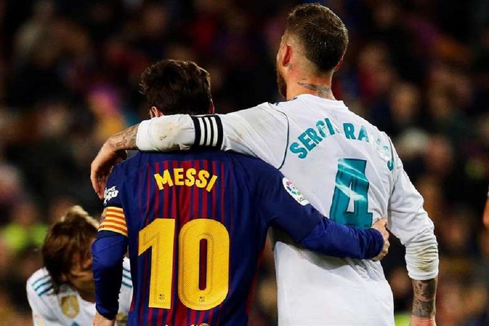 Sergio Ramos: Tanpa Messi El Classico Bakal Hampa