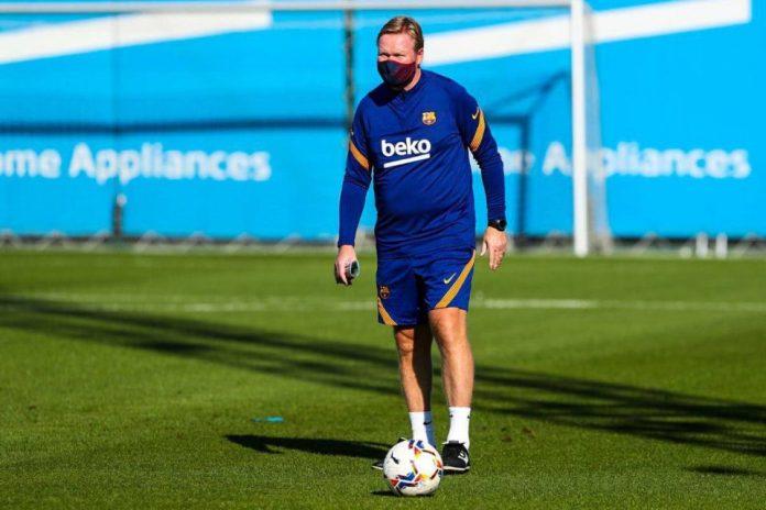 Ronald Koeman, pelatih Barcelona