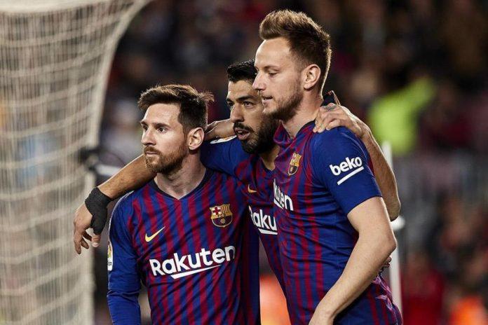 Messi Suarez Rakitic