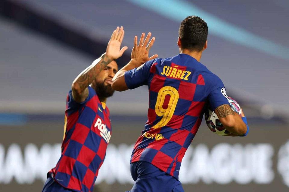 Luis 'El Pistolero' Suarez Doakan Yang Terbaik, Vidal: Terima Kasih!