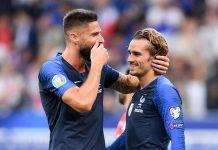 Prancis Bantai Ukraina 7-1: Giroud Dan Griezmann Kompak Pecahkan Rekor