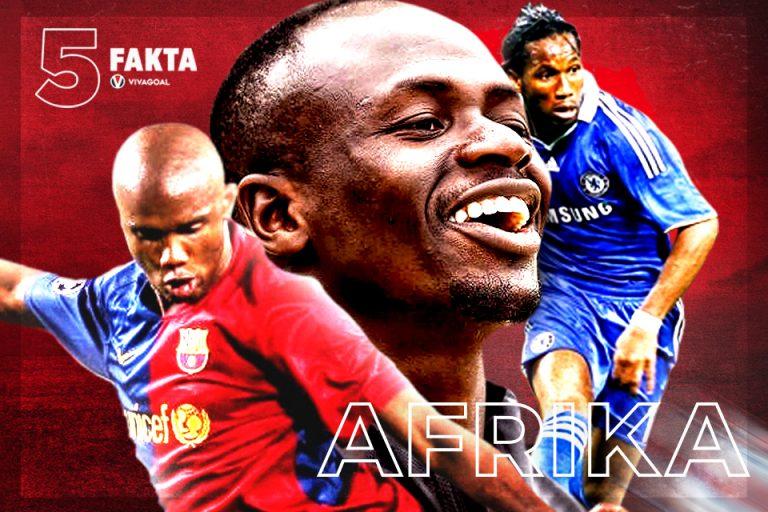 5 Pemain Afrika yang Berjaya di Liga Champions