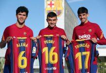Jelang El Clasico, Dua Wonderkid Barca Kenang Selebrasi Ikonik Messi Di Bernabeu