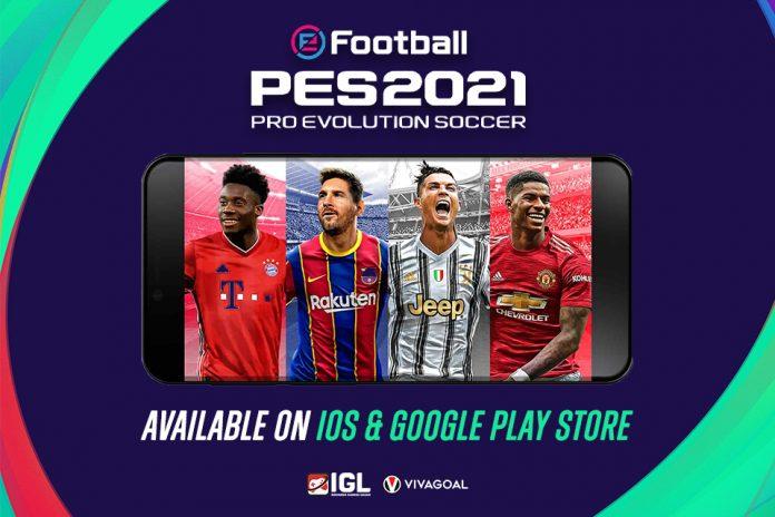 eFootball PES 2021 Versi Mobile Resmi Hadir di Playstore & Ios