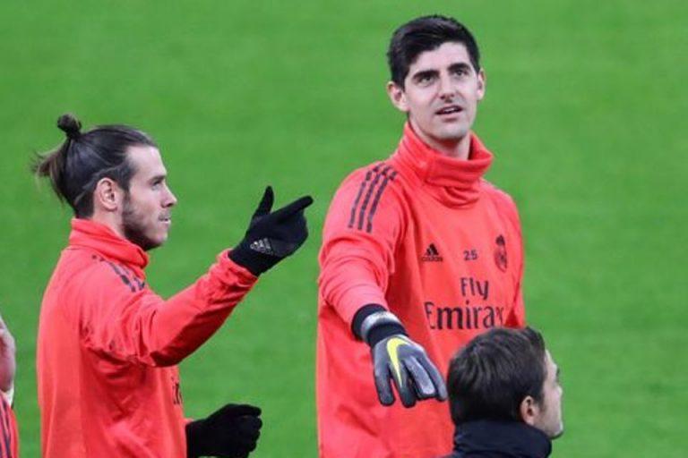 Doa dan Sindiran Courtois Untuk Mantan Bintang Real Madrid