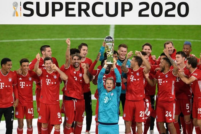 Bayern Munchen, Klub dengan Koleksi Terbanyak Piala Super Jerman