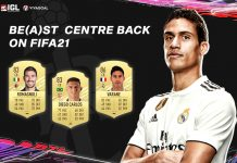 Jajaran Bek Tengah Worth to Buy di FIFA 21 Ultimate Team
