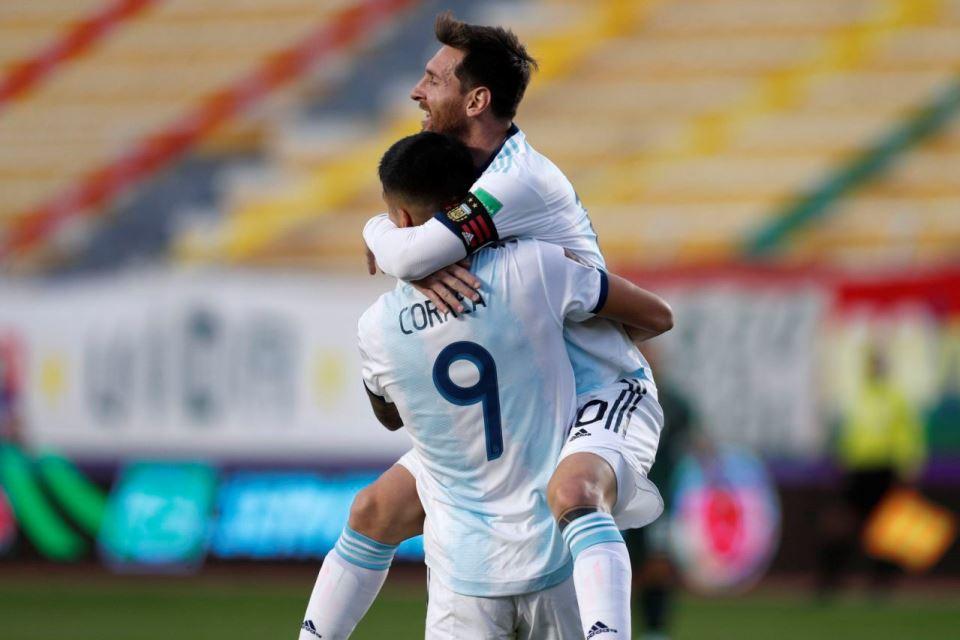 Bolivia vs Argentina Aguero Minta Messi Pukul Moreno