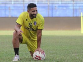 Bruno Smith, pemain Arema FC