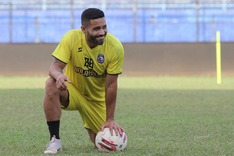 Bruno Smith, pemain Arema FC
