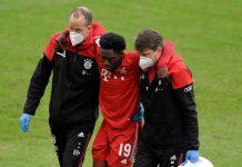 Cedera Ligamen, Alphonso Davies Absen Bela Munchen Selama 8 Pekan
