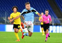 Ciro Immobile On Fire, Lazio Tekuk Dortmund 3-1