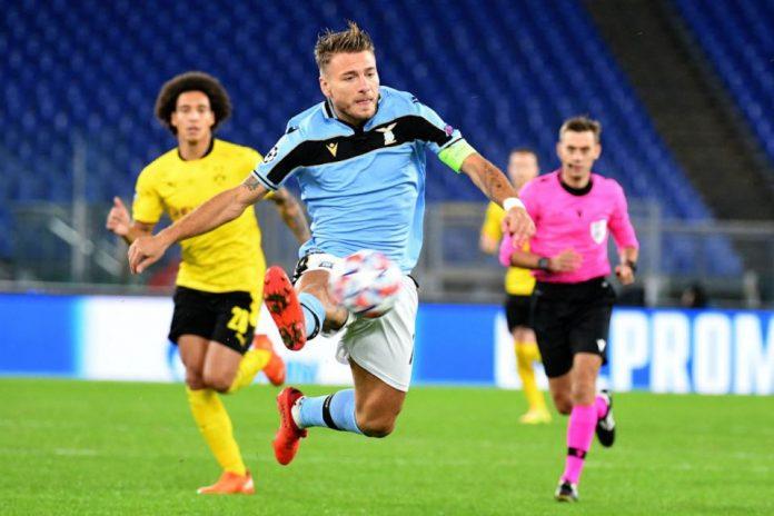 Ciro Immobile On Fire, Lazio Tekuk Dortmund 3-1
