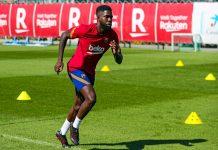 Barcelona Terpuruk, Umtiti: Saya Tak Akan Tinggalkan Camp Nou