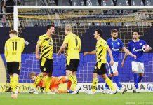 Tumbangkan Schalke dengan Skor Telak, Dortmund Berada di Posisi Ketiga