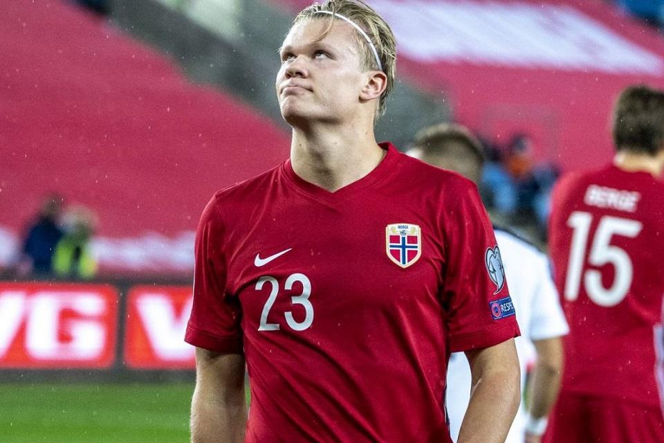 Serbia Pupus Impian Haaland Tampil di Piala Eropa 2021