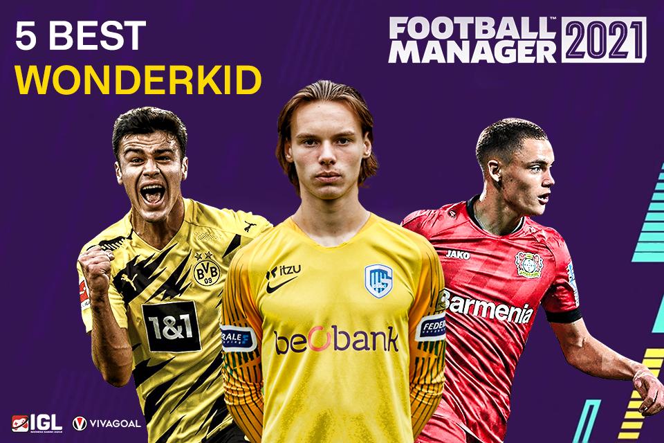5 Wonderkid Potensial di Football Manager 21
