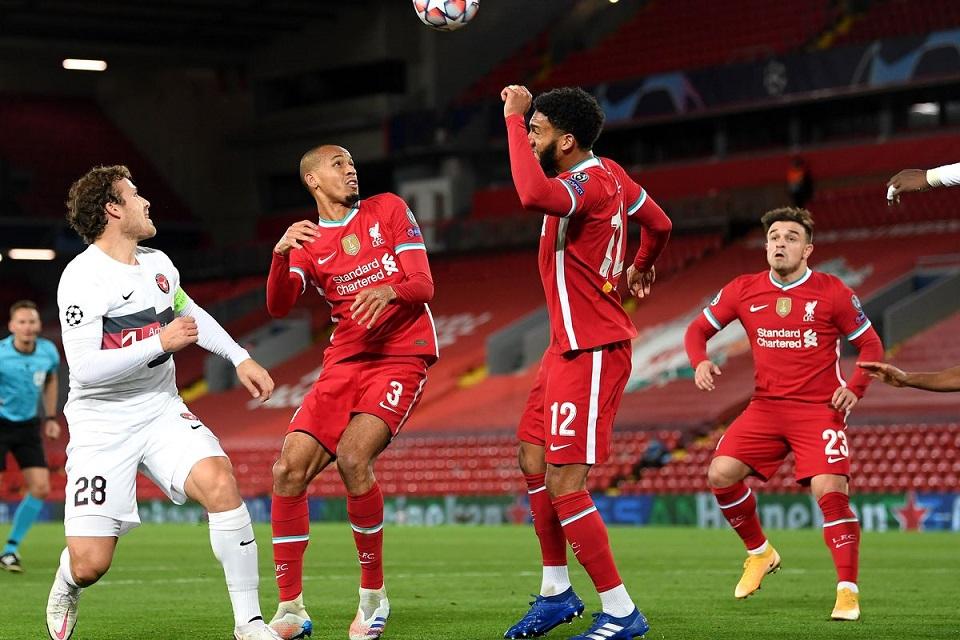 Liverpool Menang Susah Payah dari Midtjylland
