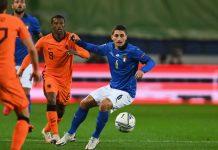 Italia vs Belanda