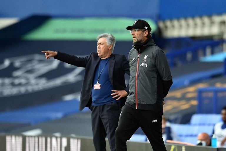 Punya Ancelotti, Klopp Sebut Everton Jadi Pesaing Berat Liverpool